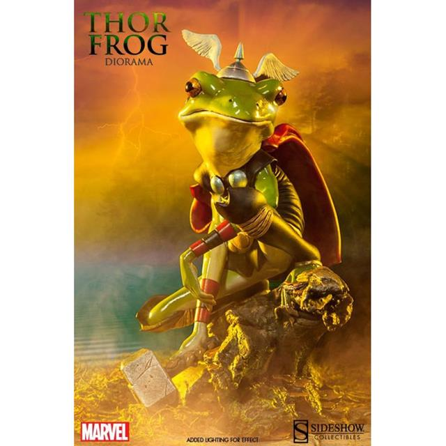 Thor Frog (Sapo) Diorama - Sideshow