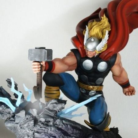 Thor Strike Down Statue - Bowen Designs
