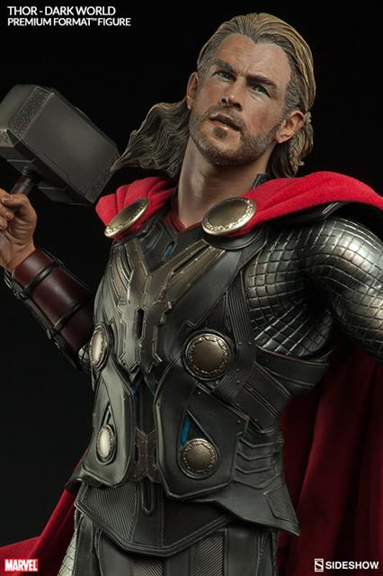 Estátua Thor: O Mundo Sombrio (The Dark World) Premium Format Escala 1/4 - Sideshow - CD