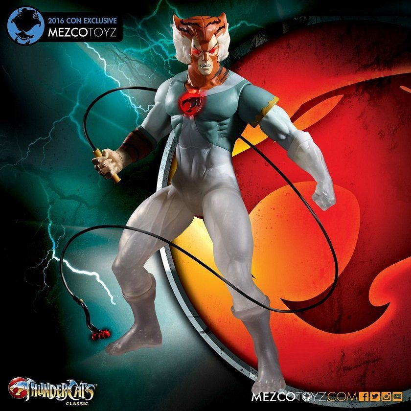 Thundercats: Tygra SDCC 2016 Exclusive Escala 1/4 - Mezco