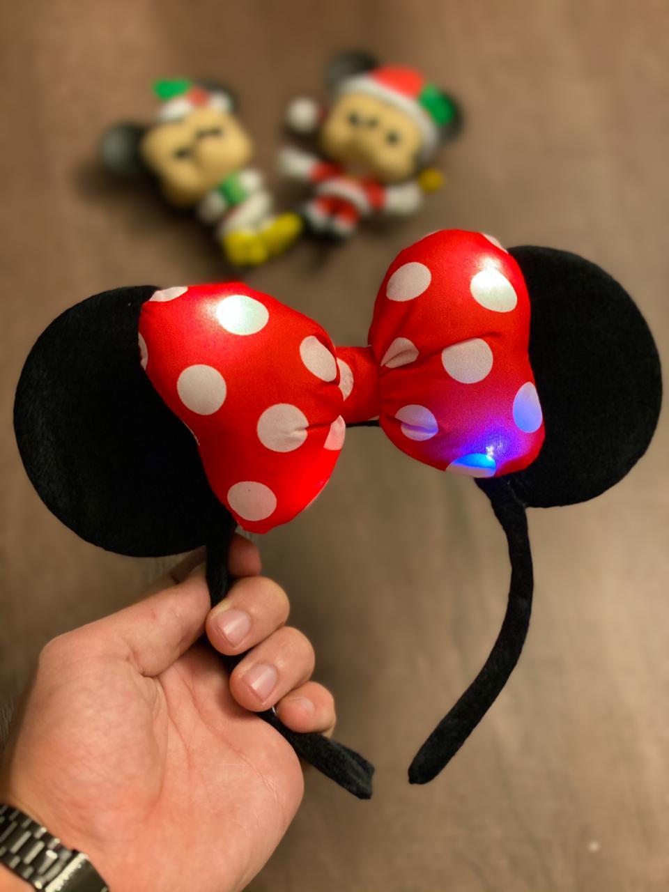 Tiara Orelhas Minnie Mouse: Disney