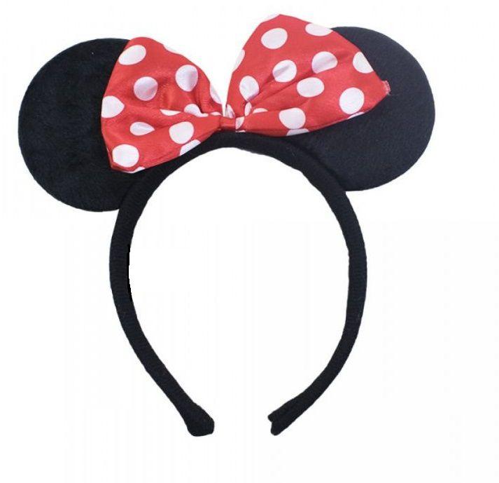 Tiara Orelhas Minnie Mouse: Disney (Acessório Fantasia)