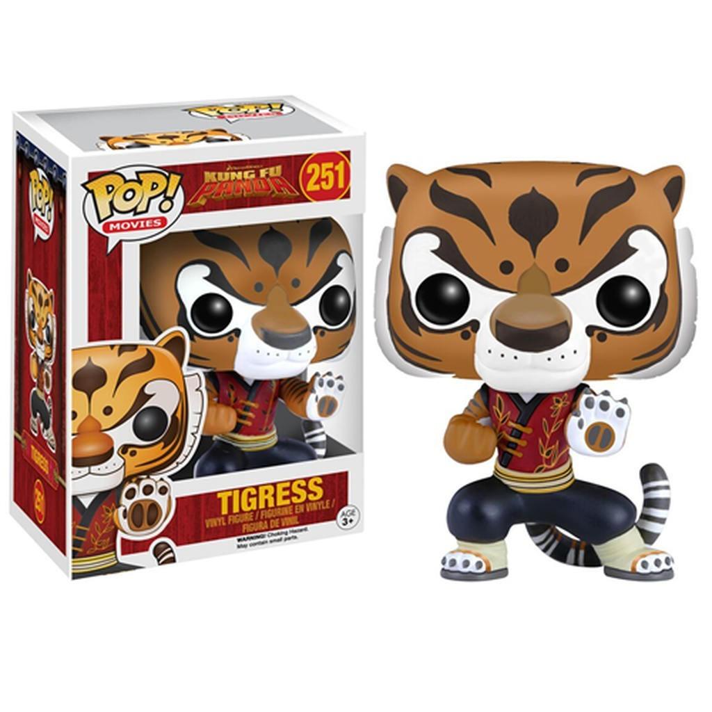 Funko Pop Tigresa: Kung Fu Panda #251 - Funko