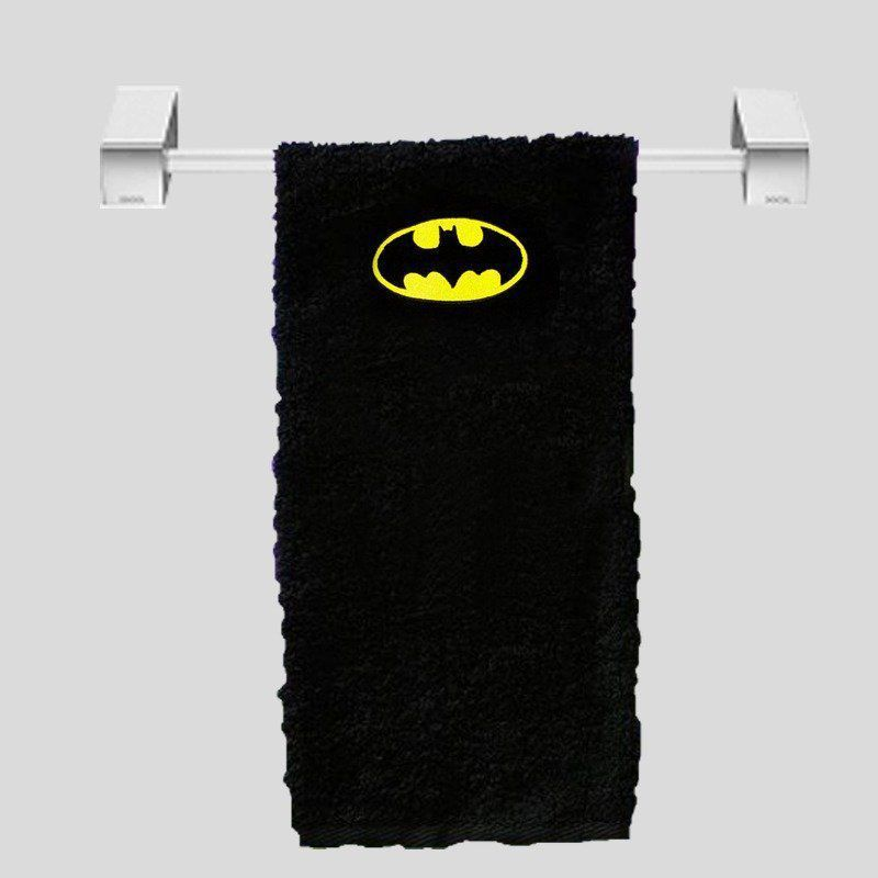 Toalha de Rosto Batman: DC (Preto)