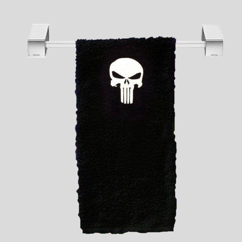 Toalha de Rosto Justiceiro (Punisher): Marvel (Preto)