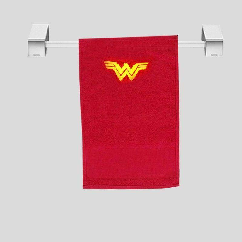 Toalha de Rosto Mulher-Maravilha (Wonder Woman): DC (Vermelho)