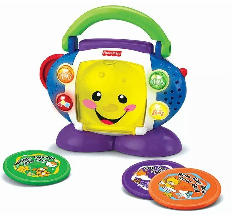 Tocador de CD Aprender e Brincar - Fisher-Price