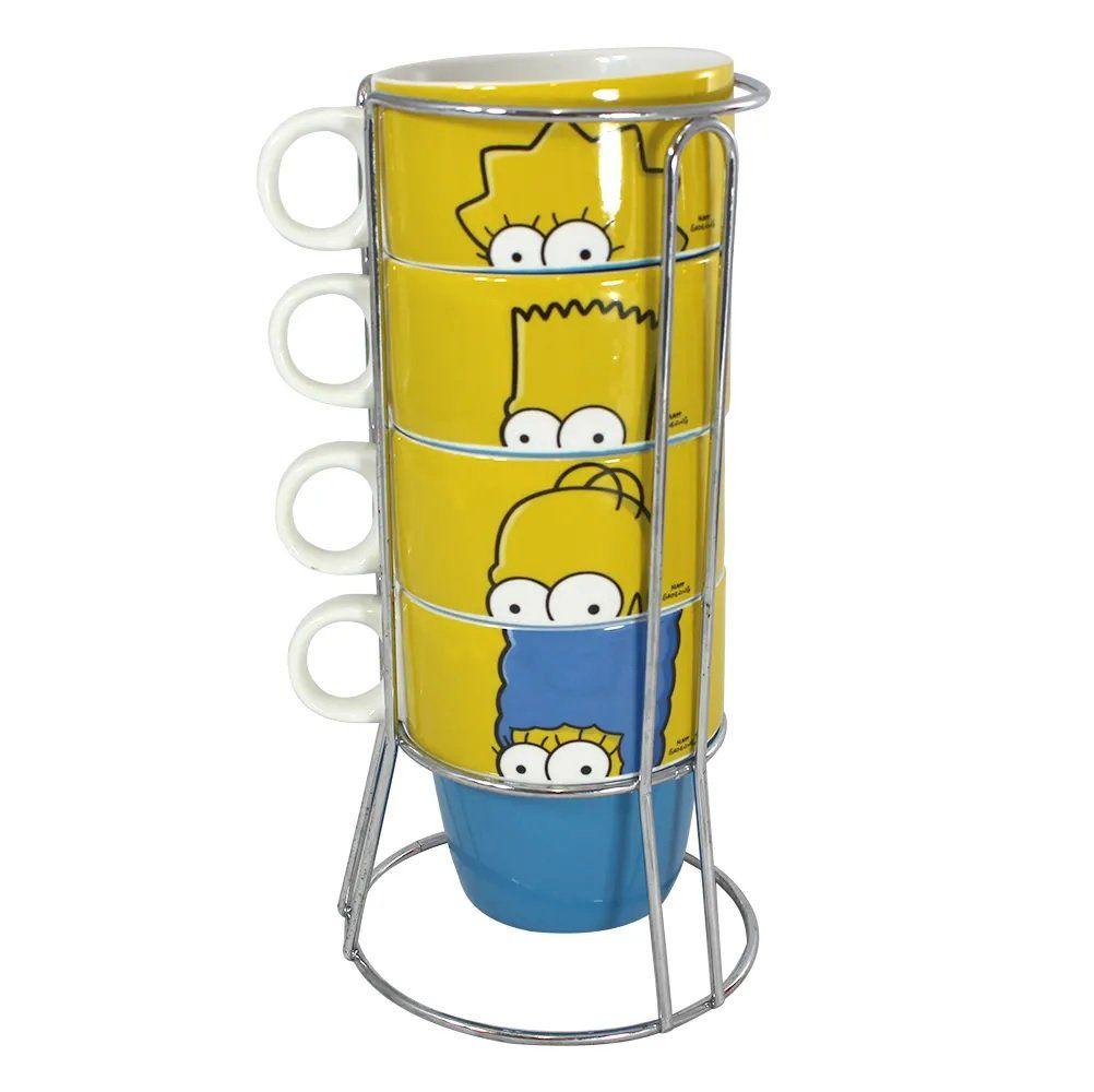 Torre de caneca Os Simpsons