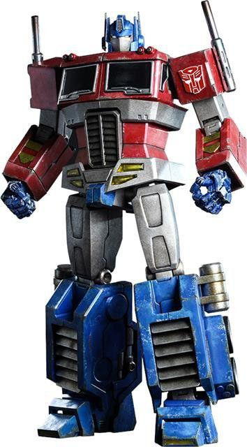 Boneco Optimus Prime (Starscream Version): The Transformers Generation 1 Escala 1/6 (TF001) - Hot Toys (Apenas Venda Online)
