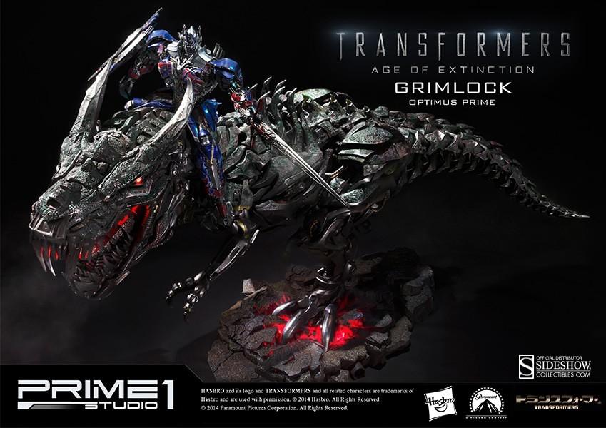Estátua Transformers (Grimlock Optimus Prime Version) - Sideshow - CD