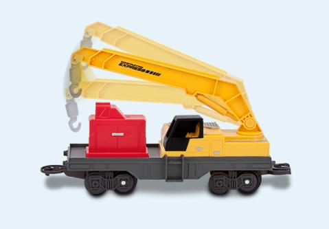 Trem Motorizado Construction Express (com luz) - DTC