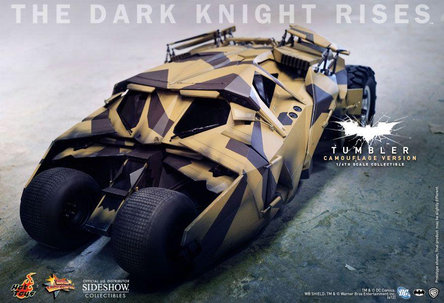 Tumbler (Camouflage Version): Batman O Cavaleiro das Trevas Resurge (The Dark Knight Rises) 1/6 - Hot Toys