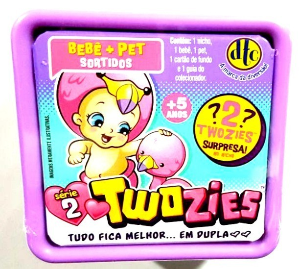 Twozies: Combinando Amigos Bebê e Pet Sortidos Série 2 - DTC