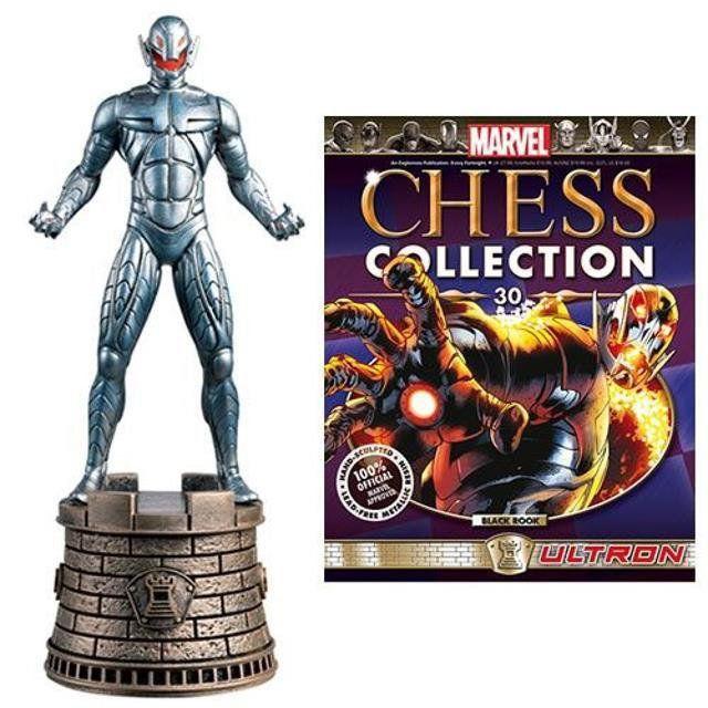 Ultron Black Rook Marvel Chess Figurine Collection Magazine #30 - Eaglemoss