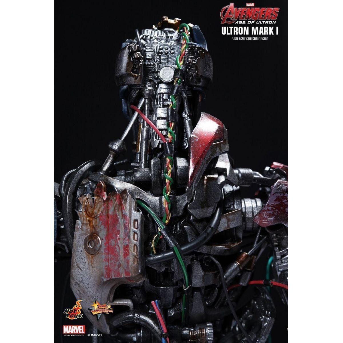 Boneco Ultron Mark I: Vingadores: Era de Ultron Escala 1/6 (MMS292) - Hot Toys - CD