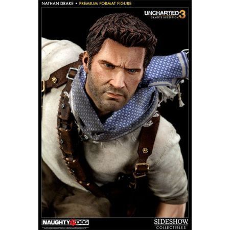 Uncharted 3 Nathan Drake Premium Format Statue - Sideshow