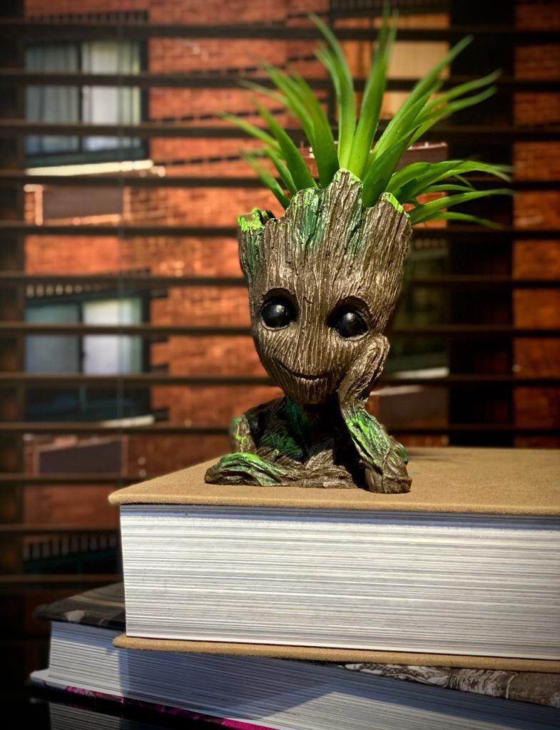 Vaso Baby Groot : Guardiões da Galáxia (Guardians of the Galaxy)
