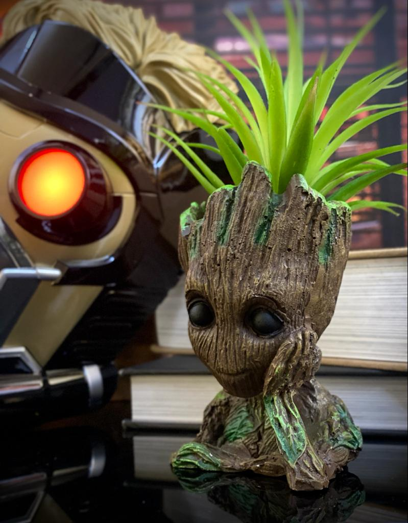 Vaso Baby Groot : Guardiões da Galáxia (Guardians of the Galaxy)