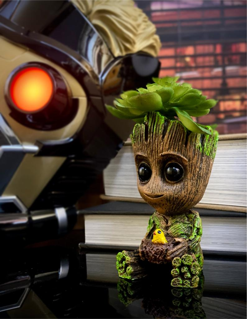 Vaso Baby Groot Sentado (Guardians of the Galaxy)