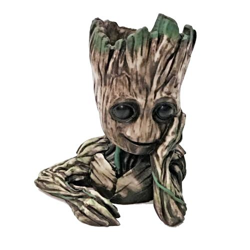 Vaso de Planta Baby Groot (Grande): Guardiões da Galáxia Vol. 2 (Guardians of the Galaxy Vol. 2) (Cachepot)