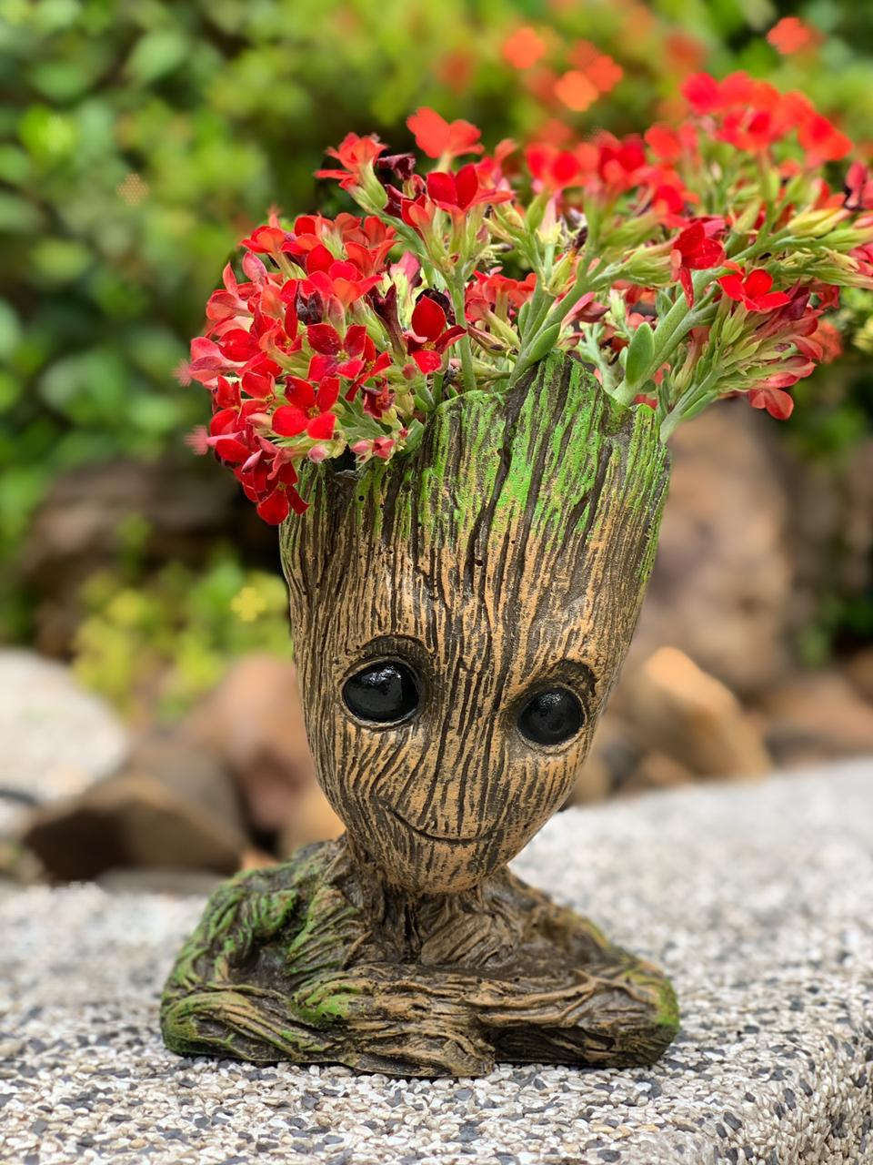 Vaso de Planta Baby Groot : Guardiões da Galáxia Vol. 2 (Guardians of the Galaxy Vol. 2) (Cachepot)
