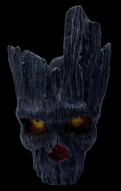 Vaso de Planta Caveira Groot (Preto): Guardiões da Galáxia (Guardians of the Galaxy) (Cachepot)