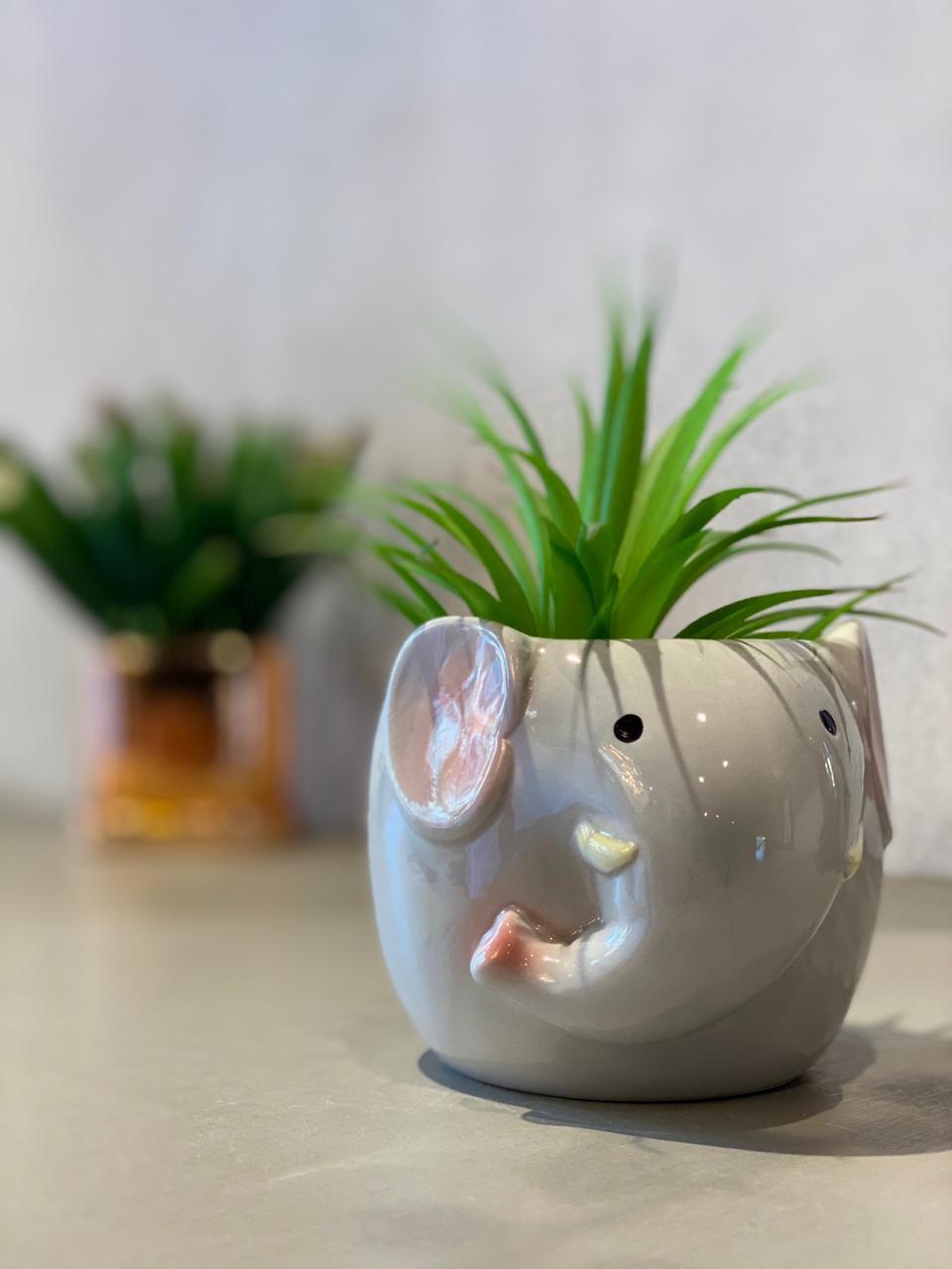Vaso Decorativo Pets Colection: Elefante - La Fleur