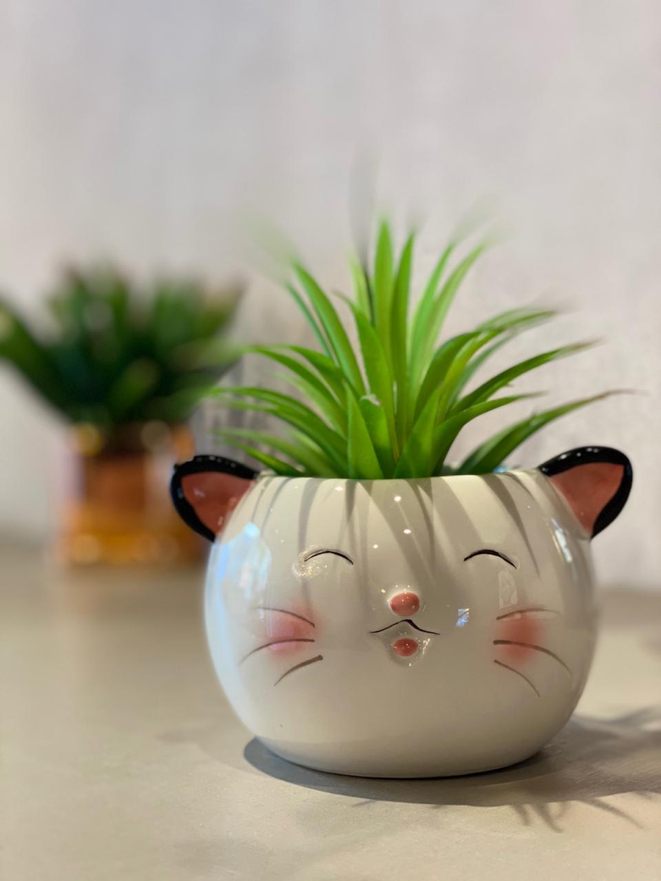 Vaso Decorativo Pets Colection: Gato - La Fleur