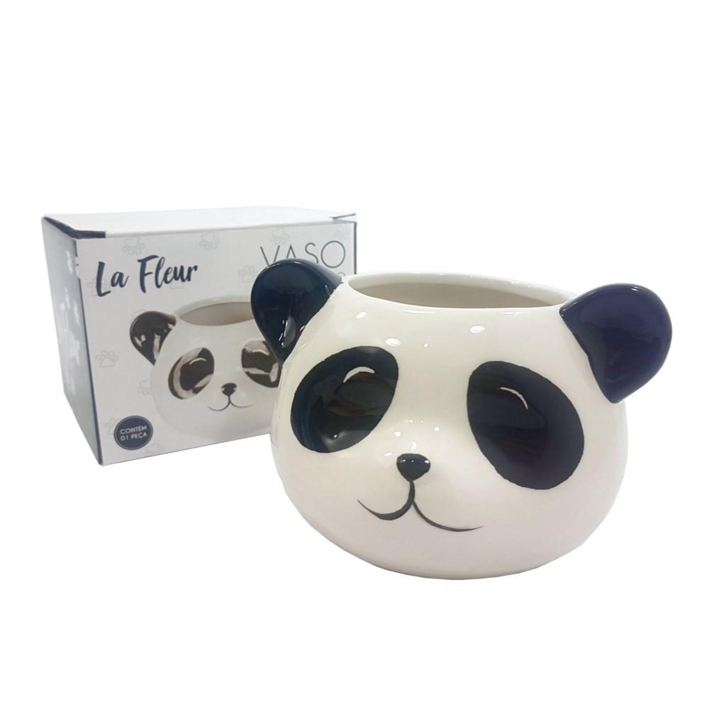 Vaso Decorativo Pets Colection: Panda - La Fleur