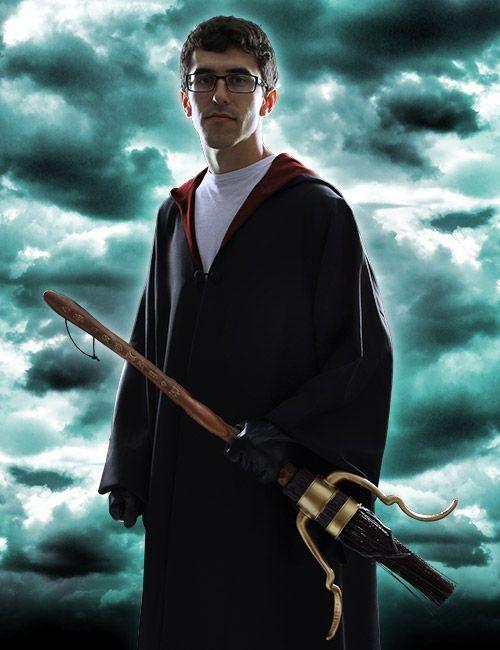 Vassoura Firebolt: Harry Potter - Rubies
