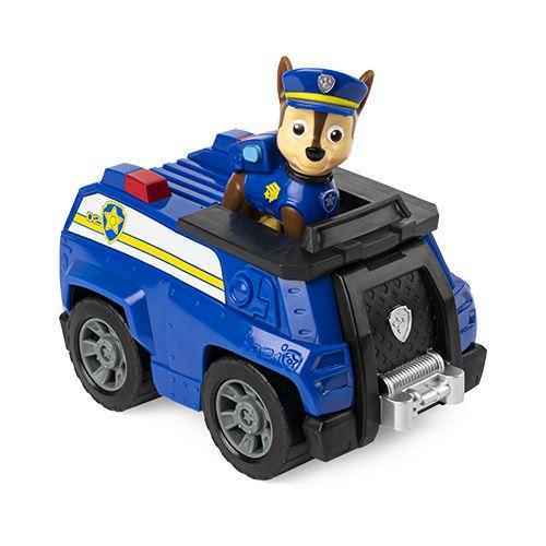 Veículo Básico da Patrulha Canina (Paw Patrol) - Chase (Crusador de Patrulha) Patrol Cruiser - Sunny