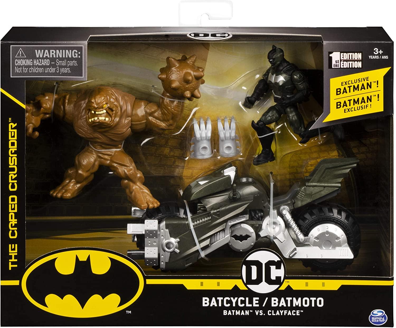 Veículo Batciclo com Figuras: Batman - DC Comics - Sunny