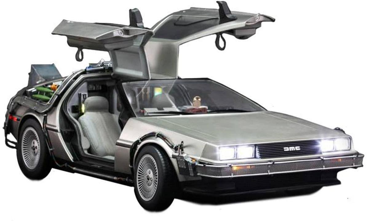 Veículo DeLorean: De Volta Para O Futuro (Back To The Future) Escala 1/6 (MMS260) - Hot Toys - CG