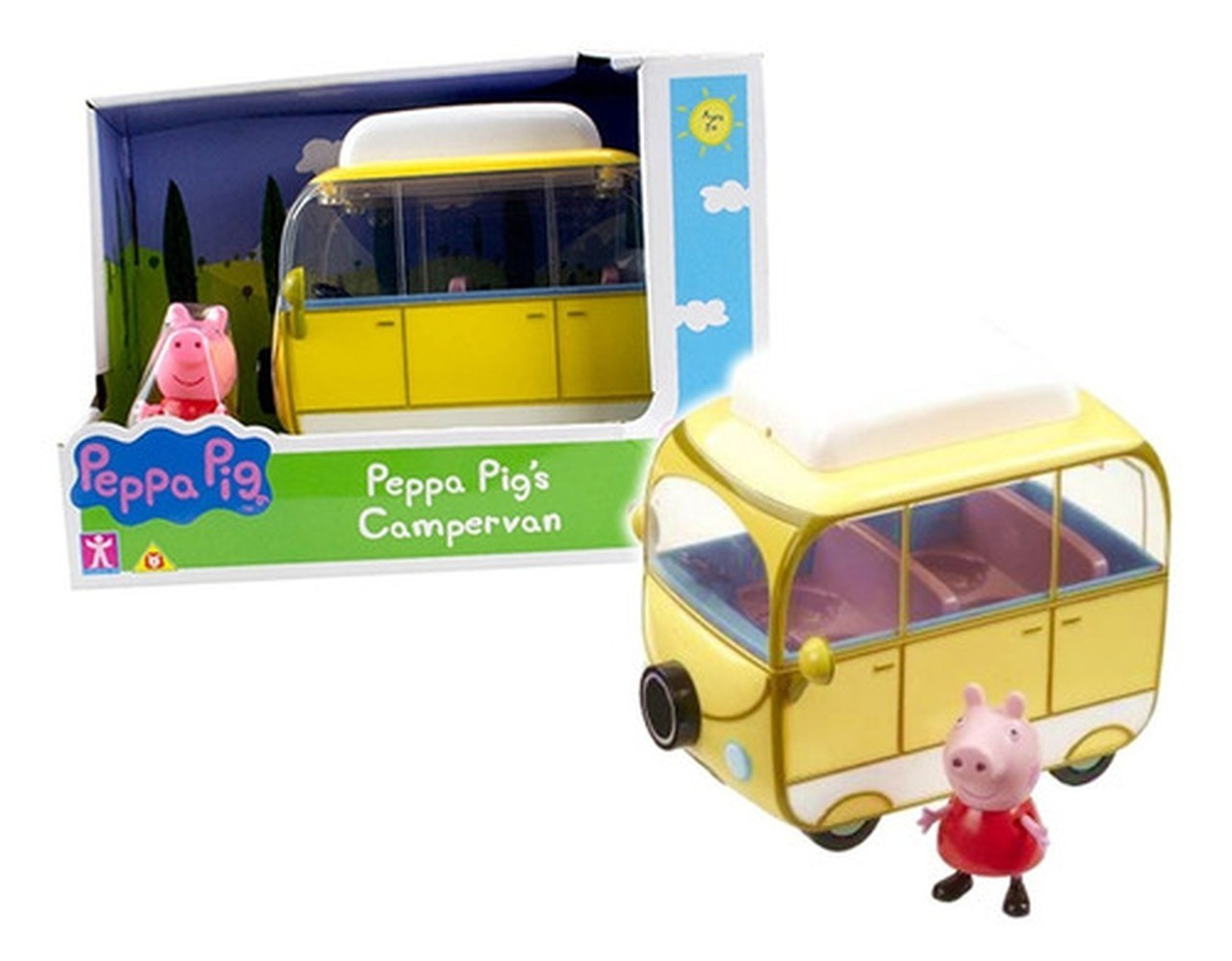 Veículos da Peppa Van de Acampar : Peppa Pig - Sunny