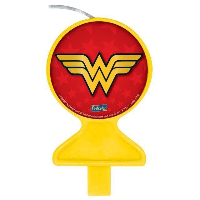 Vela Plana Wonder Woman - Festcolor