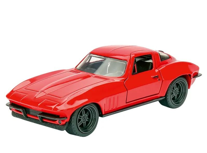 Velozes e Furiosos: 1966 Letty Chevy Corvette Die Cast Escala 1/32