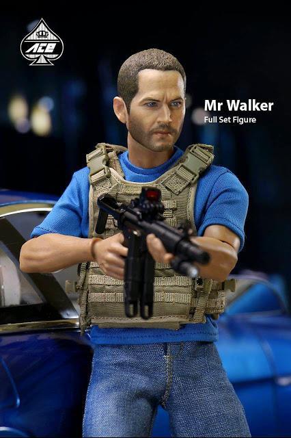 Velozes e Furiosos: Brian O'Conner Escala 1/6 - Ace Toyz