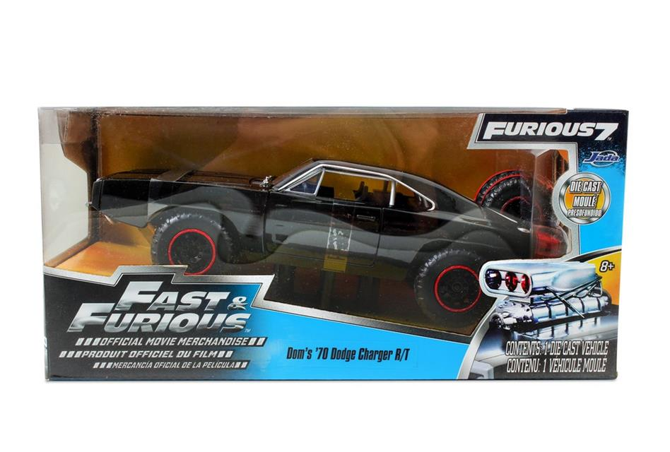 Velozes e Furiosos: Dodge Charger RT Fuga Die Cast Escala 1/24 - DTC