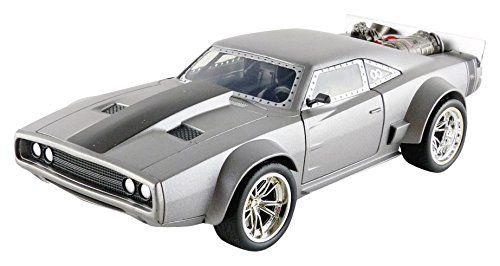 Velozes e Furiosos: Dom's Ice Dodge Charger R/T Die Cast Escala 1/24