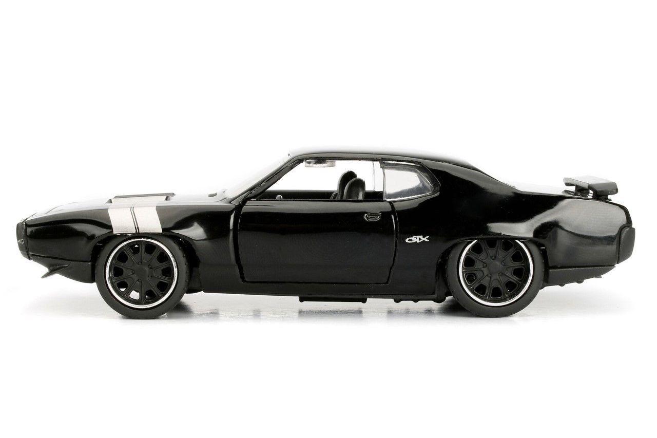 Velozes e Furiosos: Dom's Plymouth GTX  Die Cast Escala 1/32