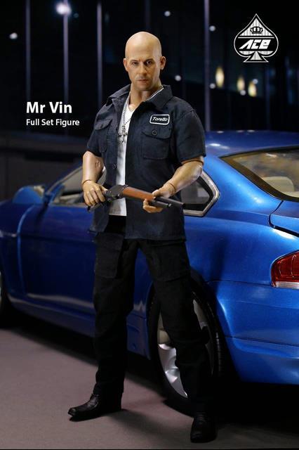 Boneco Dom Toretto: Velozes e Furiosos Escala 1/6 - Ace Toyz