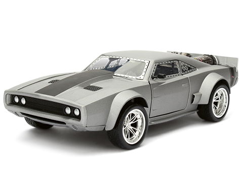 Velozes e Furiosos: Dom´s Ice Charger F8 - Die Cast (Escala 1/24) - DTC