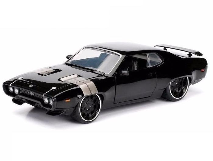 Velozes e Furiosos: Dom´s Plymouth GTX F8 - Die Cast (Escala 1/24) - DTC