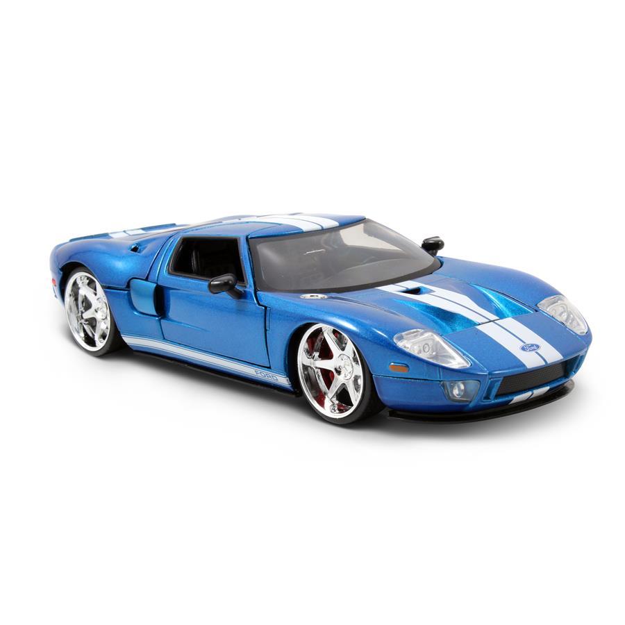 Velozes e Furiosos: Ford GT Die Cast Escala 1/24 - DTC