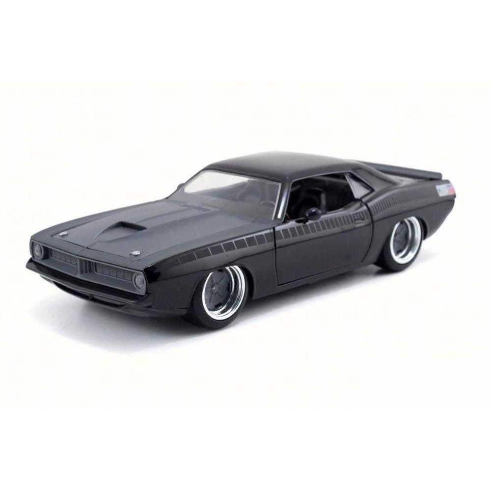 Velozes e Furiosos: Letty's Plymouth Barracuda Die Cast Escala 1/24 - DTC