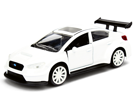 Velozes e Furiosos: Mr. Little Nobody´s Subaru WRX STI Die Cast (Escala 1/24) - DTC