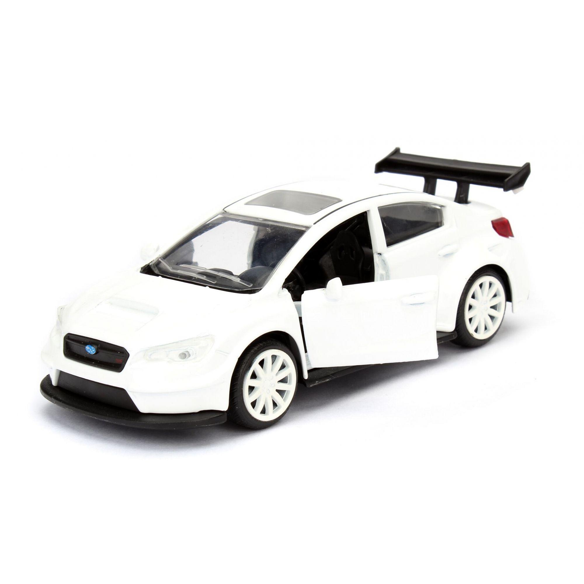 Velozes e Furiosos: Subaru WRX STI Die Cast Escala 1/32