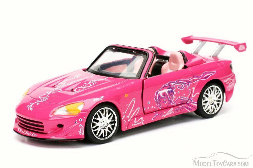 Velozes e Furiosos: Suki's 2001 Honda S2000 Die Cast Escala 1/32