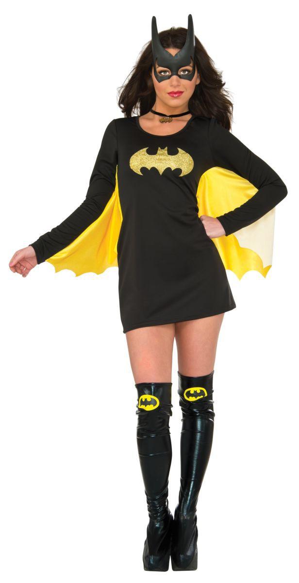 Vestido Com Capa Batgirl: Batman (Acessório Fantasia) - Rubies Costume - CD