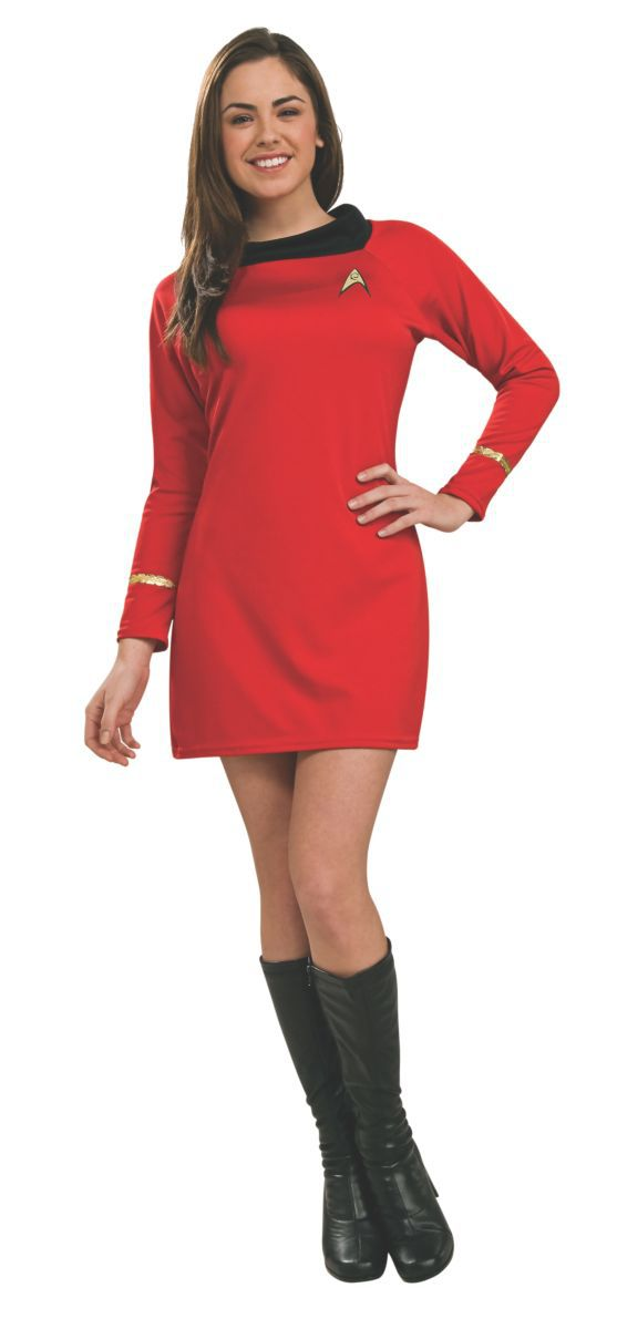 Vestido Uhura Vermelho: Star Trek - Rubies Costume - CD